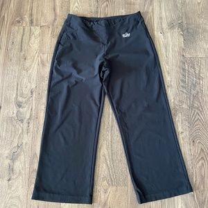 NIKE Cropped Athletic Yoga Workout Pants Women's S